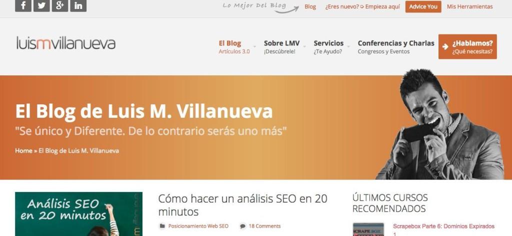 entrevista a unos de los mejores seo Luis M. Villanueva