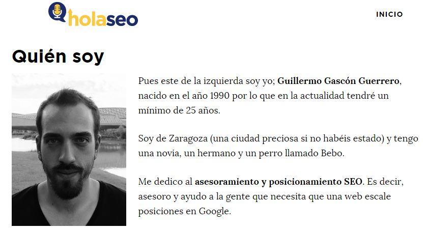 Guillermo Gascón de Holaseo.net