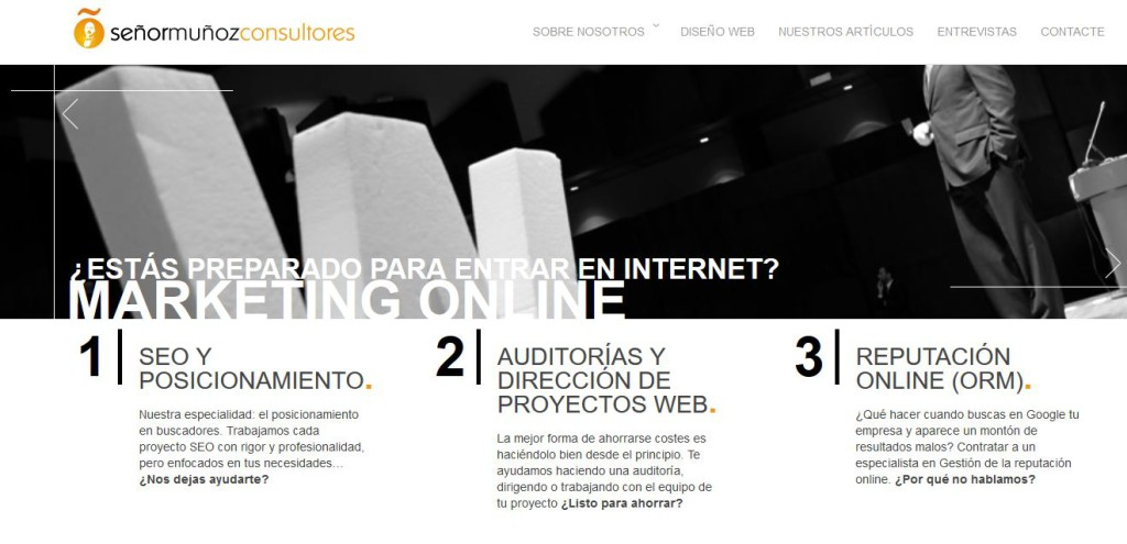 Agencia de Posicionamiento web Señor moñoz