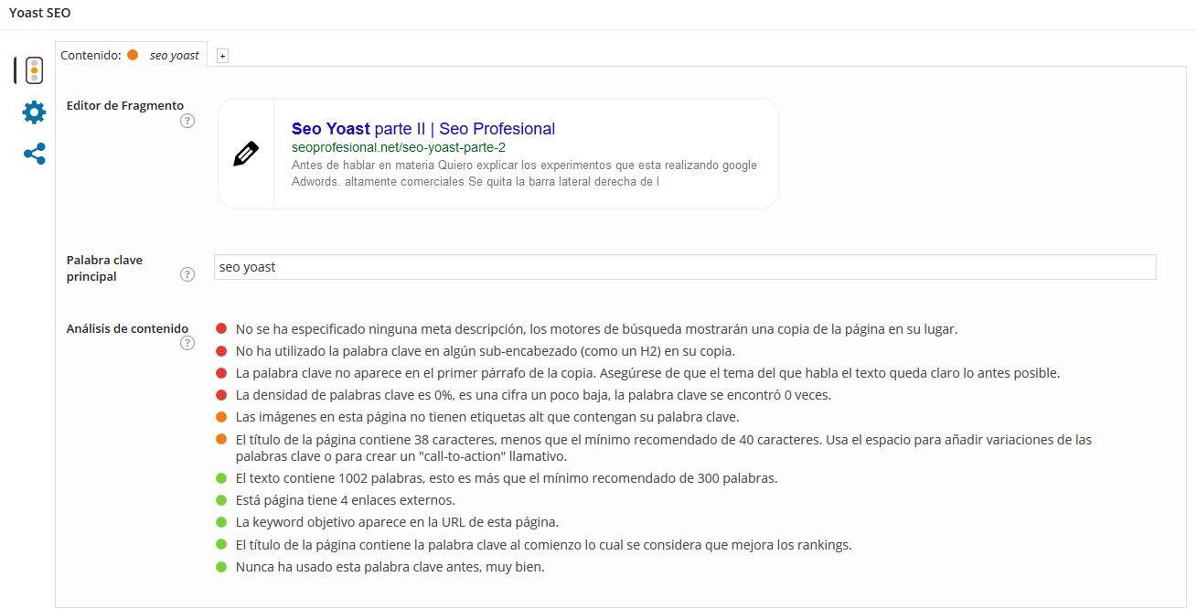 El titulo es fundametal para SEO on page
