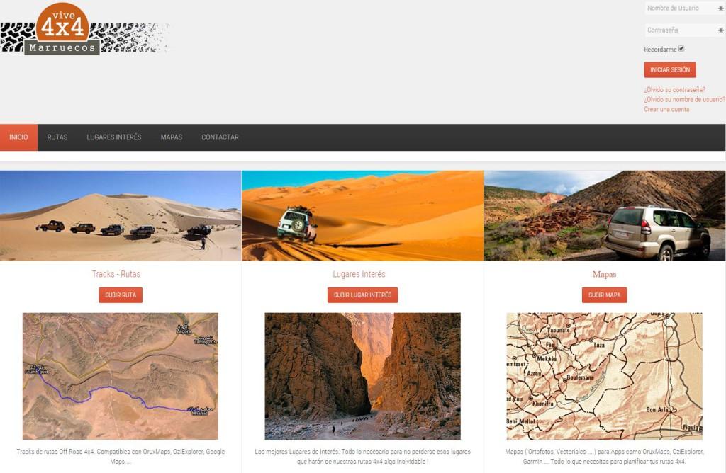 Vive4x4.com web sobre rutas en todo terreno en marruecos