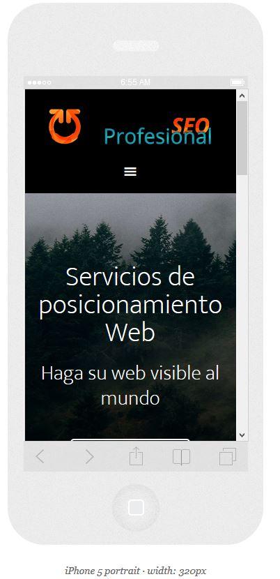 como se ve mi web desde un movil