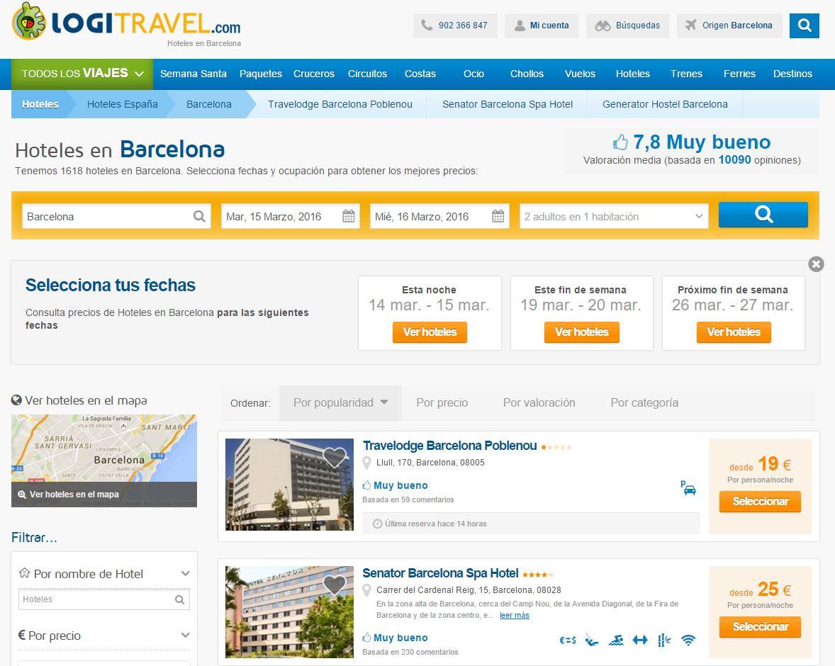 48 el caso del hotel barato barcelona seo y sem profesional for Busco hotel barato en barcelona