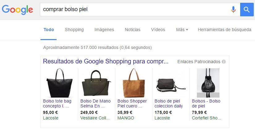 Adwords en Google Shopping