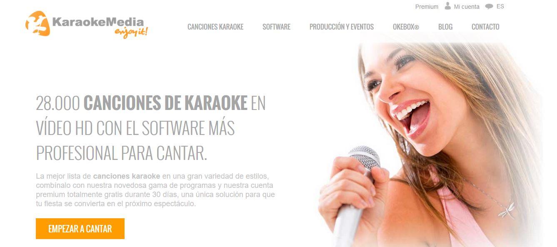 La mejor web karaoke del mundo
