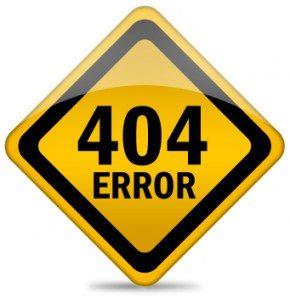 Error 404 Web mastertools